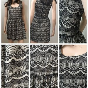 Eight Sixty Dresses - Eight Sixty Fit &Flare Lace Dress Size XS-S New